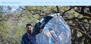 Misha - Website Homepage Portfolio Digital